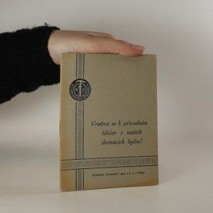 náhled knihy - Vraťme se k přírodním lékům z našich domácích bylin