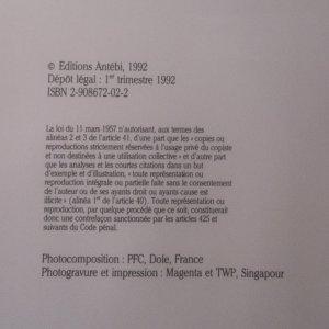 antikvární kniha La Justice, 1992