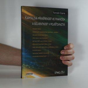 náhled knihy - Kapitálová přiměřenost ve financích a solventnost v pojišťovnictví