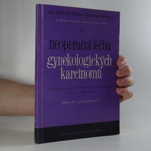 náhled knihy - Neoperační léčba gynekologických karcinomů