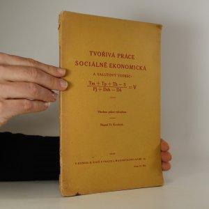 náhled knihy - Tvořivá práce sociálně ekonomická