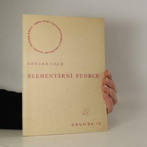 náhled knihy - Elementární funkce