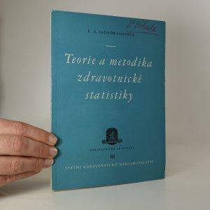 náhled knihy - Teorie a metodika zdravotnické statistiky