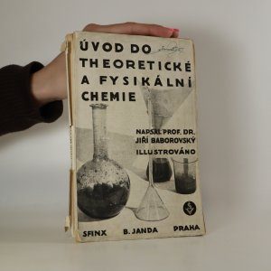 náhled knihy - Úvod do teoretické a fysikální chemie. 1. díl (asi podpis autora)