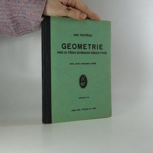náhled knihy - Geometrie pro VI. třídu gymnasií všech typů