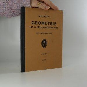 náhled knihy - Geometrie pro IV. třídu středních škol