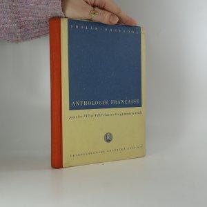 náhled knihy - Anthologie française pour les VII. et VIII. classes des gymnases réals