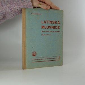 náhled knihy - Latinská mluvnice pro gymnasia, reálná i reformní