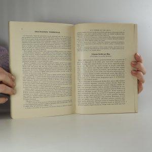 antikvární kniha M. Tullius Cicero. Výbor z jeho řečí. Díl I., Text., 1935