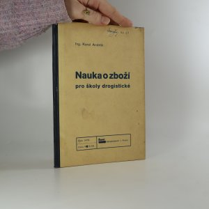 náhled knihy - Nauka o zboží pro školy drogistické