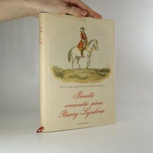 náhled knihy - Paměti urozeného pána Barry-Lyndona