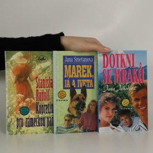náhled knihy - 3x Dívčí román (Kopretiny pro zámeckou paní. Dotkni se mraků. Marek, já a Iveta. 3 svazky)