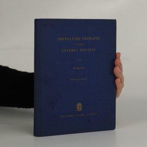 náhled knihy - Dringliche Therapie in der Inneren Medizin