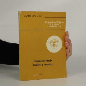 náhled knihy - Zákonitosti vývoje biosféry a noosféry