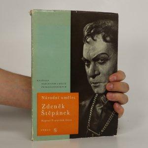 náhled knihy - Národní umělec Zdeněk Štěpánek