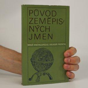 náhled knihy - Původ zeměpisných jmen