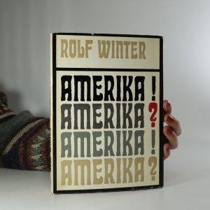 náhled knihy - amerika! amerika?