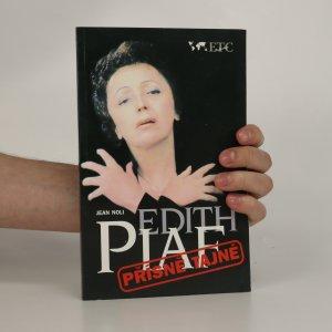 náhled knihy - Edith Piaf. Přísně tajné