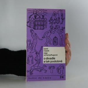 náhled knihy - O divadle a tak podobně