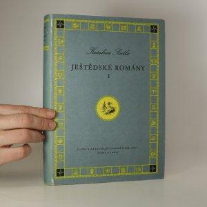 náhled knihy - Ještědské romány. I. díl