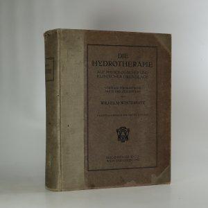 náhled knihy - Die Hydrotherapie auf Physiologischer und Klinischer Grundlage
