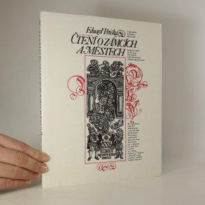 náhled knihy - Čtení o zámcích a městech