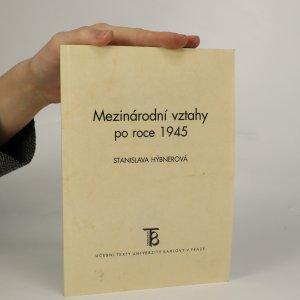 náhled knihy - Mezinárodní vztahy po roce 1945
