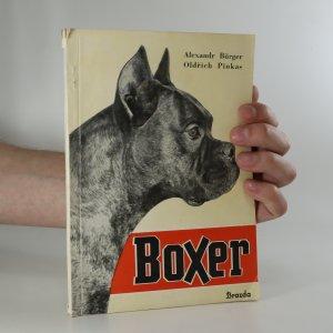 náhled knihy - Boxer, jeho chov a výcvik