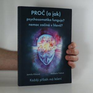 náhled knihy - Proč (a jak) psychosomatika funguje?