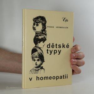 náhled knihy - Dětské typy v homeopatii