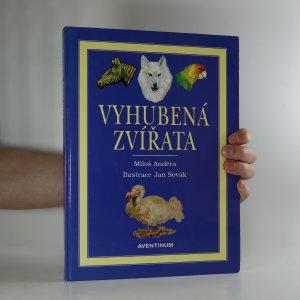 náhled knihy - Vyhubená zvířata