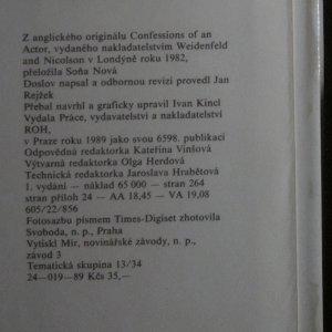 antikvární kniha Hercova zpověď, 1989