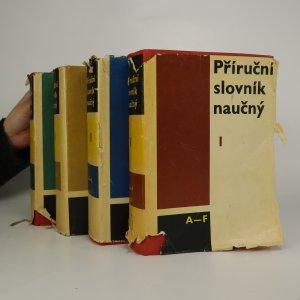 náhled knihy - Příruční slovník naučný I - IV (4 díly ve 4 svazcích)