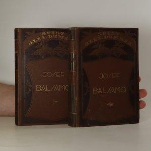 náhled knihy - Josef Balsamo I. a II. díl (2 svazky)
