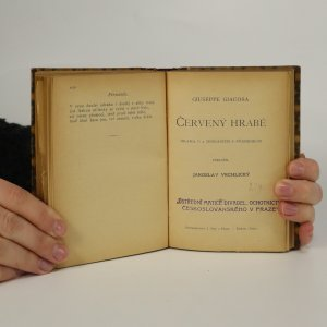 antikvární kniha Cyrano de Bergerac. Cid. Červený hrabě (3 knihy v jednom svazku), neuveden
