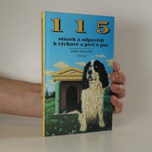 náhled knihy - 115 otázek a odpovědí k výchově a péči o psa (knižní blok vevázán vzhůru nohama)