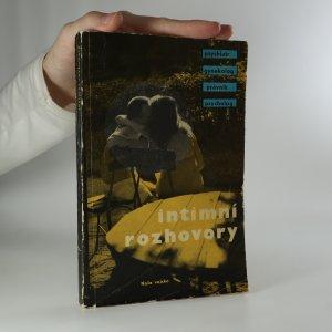 náhled knihy - Intimní rozhovory