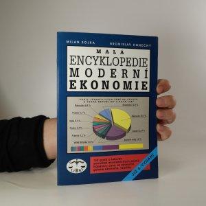 náhled knihy - Malá encyklopedie moderní ekonomie