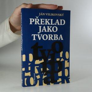 náhled knihy - Překlad jako tvorba