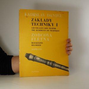 náhled knihy - Základy techniky pro sopránovou zobcovou flétnu I.