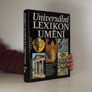 náhled knihy - Universální lexikon umění