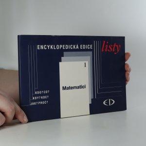 náhled knihy - Matematici