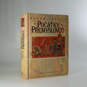 náhled knihy - Počátky Přemyslovců. Vstup Čechů do dějin (530-935)