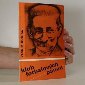 náhled knihy - Klub fotbalových panen