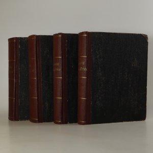 náhled knihy - Paměti Josefa Václava Friče. I.-IV.část (4 svazky,stav viz foto)