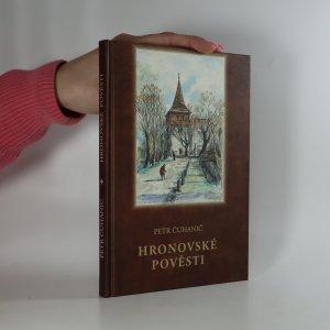 náhled knihy - Hronovské pověsti