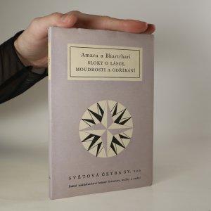 náhled knihy - Sloky o lásce, moudrosti a odříkání