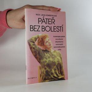 náhled knihy - Páteř bez bolestí