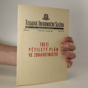 náhled knihy - Třetí pětiletý plán ve zdravotnictví