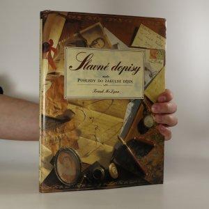náhled knihy - Slavné dopisy, aneb, Pohledy do zákulisí dějin